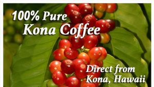 100% Pure Kona Coffee direct from Kona, Hawaii