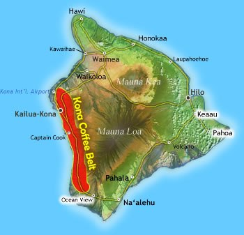 The Kona Coffee Belt