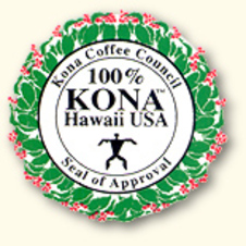 Kona Coffee Council Seal
